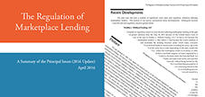 The Regulation of Marketplace Lending (2016 Update)
