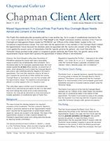 Client Alerts & Publications Archive: Chapman and Cutler LLP