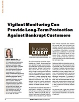 Vigilant Monitoring Can Provide Long-Term Protection Against Bankrupt Customers