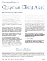 New Form 8038-CP for Direct Pay Bonds