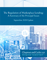 The Regulation of Marketplace Lending: A Summary of the Principal Issues